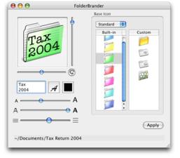 FolderBranderScreenshot